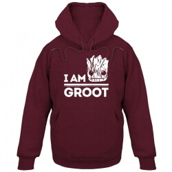 I am groot hoodie Cute Red WIne Guardians Of The Galaxy Sweater