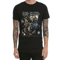 Iced Earth Heavy Metal Rock T-Shirt Black