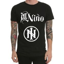 Ill Nino Rock Band Tshirt Black Heavy Metal Tee