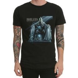 Immolation Rock Band Tshirt Black Heavy Metal Tee