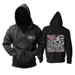 Impiety Hooded Sweatshirts Metal Music Hoodie