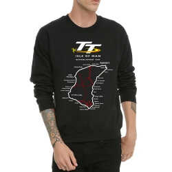 Isle of Man TT logo Crew Neck Sweatshirt for Men
