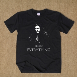 Jon Snow I Know Everything Tshirt