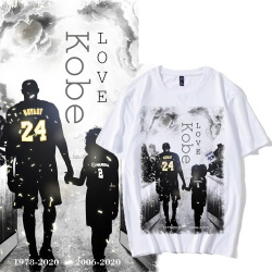 Kobe Bryant and Gianna Memorial T-shirt NBA Kobe Tee
