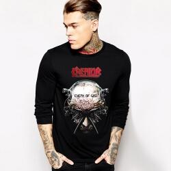 Kreator T-Shirt Rock Music Team Long Sleeve Tee