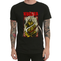 Kylesa Band Rock T-Shirt White Heavy Metal T