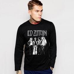 Led Zeppelin Long Sleeve T-Shirt Rock Music Team Tee