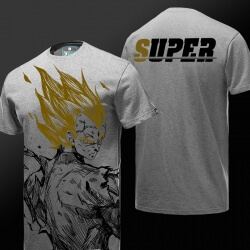 Limited Edition Vegeta T-shirt Dragon Ball Super Tee Shirt