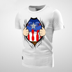 Lovely Captain America Tshirt for men