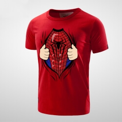 Lovely Superhero Spider Man T shirt