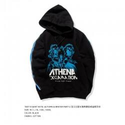 Luminous Athena Exclamation Hoodie Saint Seiya Sweatshirt