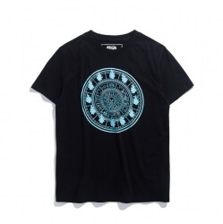 Luminous Saint Seiya Fire Clock Tshirt