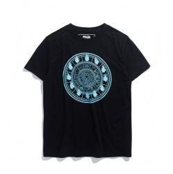 Luminous Saint Seiya Fire Clock Tshirt