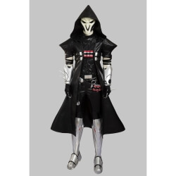 Overwatch Reaper Cosplay Costume OW Reaper Windbreaker