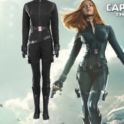 Black Widow Costume Avengers Captain America Cosplay Costume