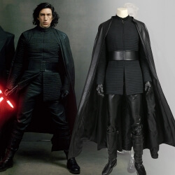 Star Wars The Last Jedi Kylo Ren Cosplay Custome