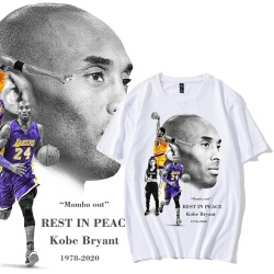 Mamba Out T-shirt Kobe Rest In Peace Tee