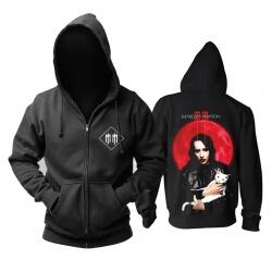 Marilyn Manson Hoodie Us Metal Rock Band Sweatshirts