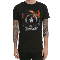 Marvel Avengers 2 Captain America T Shirt