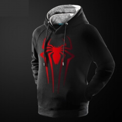 Marvel Superhero Spiderman Pullover Hoodies for Man