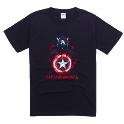 Marvel's The Avengers Captain America Ironman T Shirts