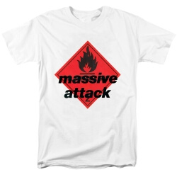 Massive Attack Band Blue Lines Tees T-Shirt