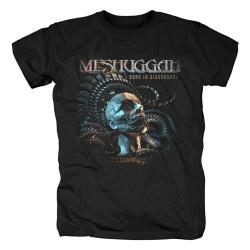Meshuggah Born In Dissonange T-Shirt Metal Rock Graphic Tees