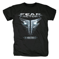 Metal Punk Rock Graphic Tees Personalised Fear Factory T-Shirt