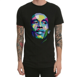 Metal Rock Bob Marley Print T-Shirt