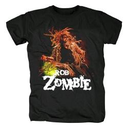 Metal Rock Graphic Tees Rob Zombie Band T-Shirt