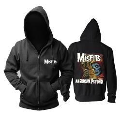 Misfits American Psycho Hoodie Hard Rock Punk Sweat Shirt