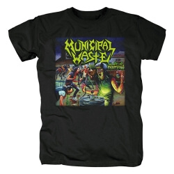 Municipal Waste T-Shirt Metal Rock Shirts