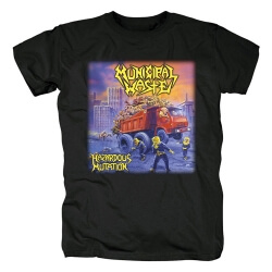 Municipal Waste T-Shirt Metal Rock Tshirts