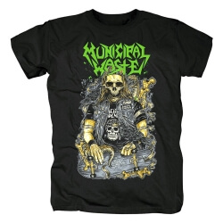 Municipal Waste Tee Shirts Metal Rock T-Shirt