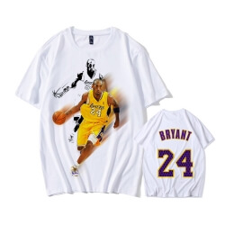 NBA Kobe Logo Shirt Lakers 24 Tshirt