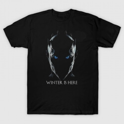 The Night King Tshirt Winter is Here Tee