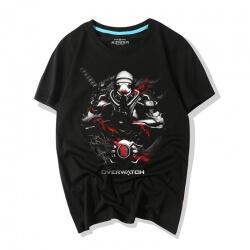 Oni Genji Mask Tshirts Overwatch Shirt