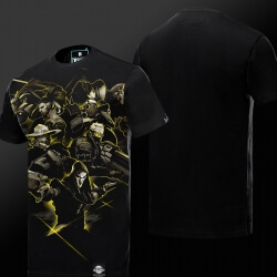 Overwatch all Hero T-shirt limited edition Mens tee