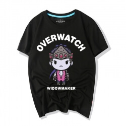 Overwatch Cartoon Widowmaker Tees