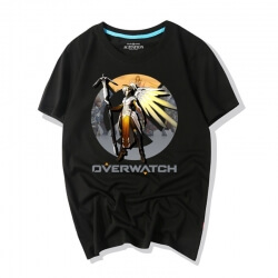 Overwatch Characters Mercy Tee Shirts