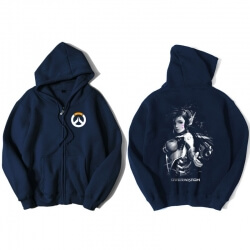 Overwatch D.Va Hoody For Men Blue Hoodie