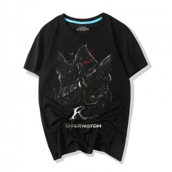 Overwatch Game Tee Shirts Darkness Reaper Shirts