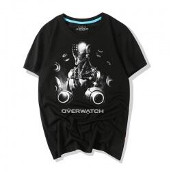 Overwatch Game Tees Darkness Zenyatta Shirts