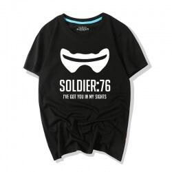 Overwatch Game Tshirts Soldier 76 Shirts