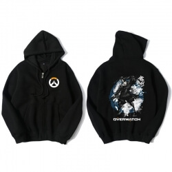Overwatch Hanzo Hoody For Men Black Hoodie