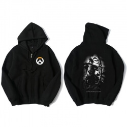 Overwatch Hanzo Sweat Shirts Mens Black Hoodie