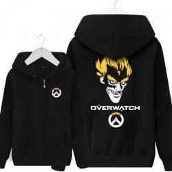 Overwatch Hero Junkrat Hoody For Men Black Hoodie