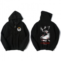 Overwatch Hero Mccree Sweat Shirts Mens Black Hoodie