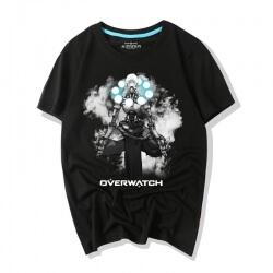 Overwatch Ink Print Zenyatta Graphic Tees