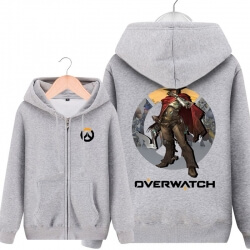Overwatch Mccree Hoodie For Mens Black Sweatshirt